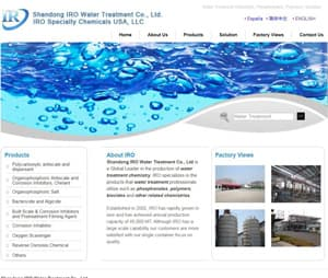 IROCHEM water treatment_unit