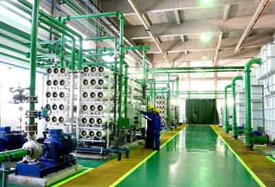 chemical water treatment in power plants