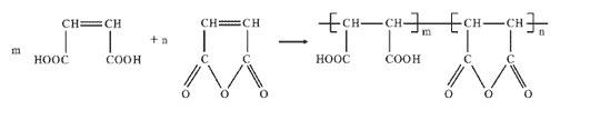 polymaleic acid reaction